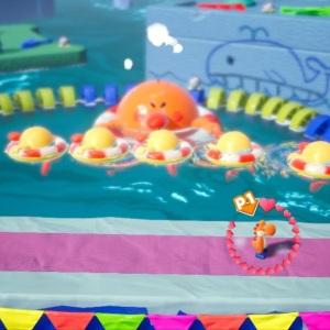 Battle Burt the Ball Yoshi's Crafted World Nintendo Switch