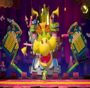 Boss The Great King Bowser Yoshi's Crafted World Nintendo Switch
