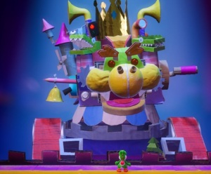 The Great King Bowser Yoshi's Crafted World Nintendo Switch