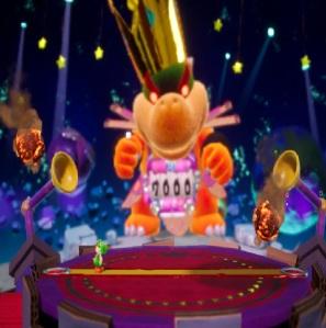 Boss Mega Baby Bowser Yoshi's Crafted World Nintendo Switch