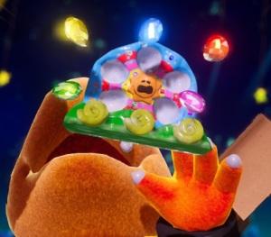 Mega Baby Bowser loses dream gems Yoshi's Crafted World Nintendo Switch