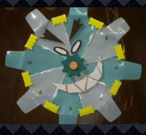 Mr. Geary boss Yoshi's Crafted World Nintendo Switch