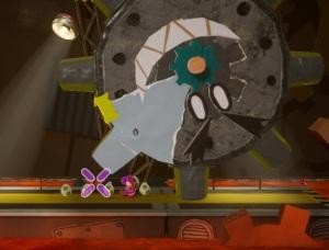 Boss battle Mr. Geary Yoshi's Crafted World Nintendo Switch