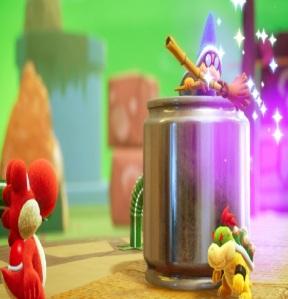 Tin-Can Condor Yoshi's Crafted World Nintendo Switch