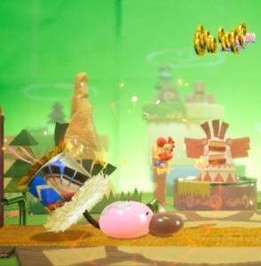 Beating Tin-Can Condor Yoshi's Crafted World Nintendo Switch