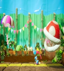 Boss fight Spike the Piranha Yoshi's Crafted World Nintendo Switch