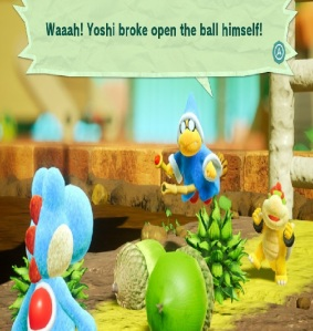 Spike the Piranha Yoshi's Crafted World Nintendo Switch