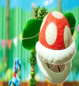 Boss Spike the Piranha Yoshi's Crafted World Nintendo Switch