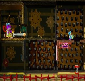 Boss fight The Shogun Yoshi's Crafted World Nintendo Switch