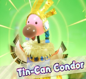 Boss Tin-Can Condor Yoshi's Crafted World Nintendo Switch