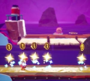Boss fight Yarrctopus Yoshi's Crafted World Nintendo Switch