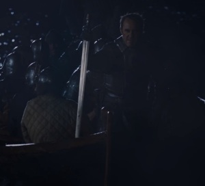 Battle of blackwater bay Stannis Baratheon at the beach game of Thrones HBO