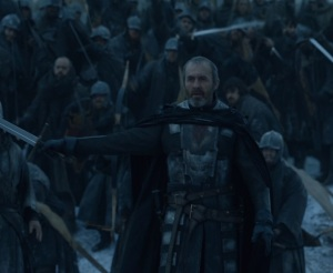 Stannis Baratheon vs Bolton army game of Thrones HBO