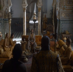 Myrcella Baratheon dorne family palace game of Thrones HBO