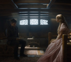 Myrcella Baratheon figures out Jaime is her dad game of Thrones HBO
