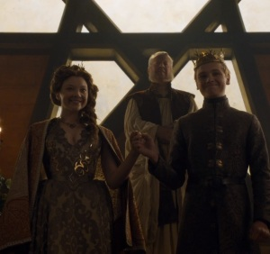 Tommen Baratheon marries margaery Tyrell game of Thrones HBO
