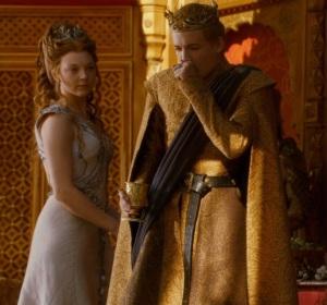 Joffrey Baratheon dies purple wedding game of thrones HBO