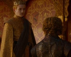 Joffrey Baratheon vs Tyrion Lannister game of thrones HBO