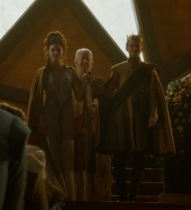 Joffrey Baratheon wedding to margaery Tyrell game of thrones HBO