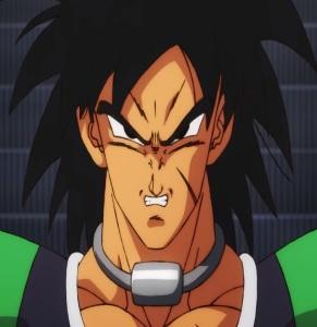 Broly base form Dragon Ball Super: Broly