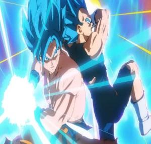 Super Saiyan blue goku and Vegeta Dragon Ball Super: Broly
