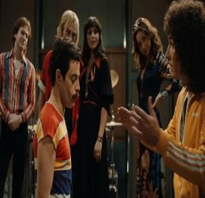 Freddie mercury and queen Bohemian Rhapsody movie
