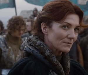 Catelyn Stark in the Stormlands game of Thrones HBO