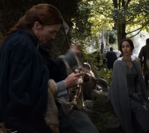 Catelyn Stark and talisa game of Thrones HBO