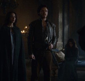 Queen Talisa Stark and King Robb game of Thrones HBO