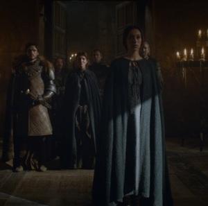 Talisa Stark meets Walder Frey game of Thrones HBO