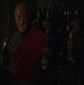 Tywin Lannister wins battle of blackwater bay game of Thrones HBO