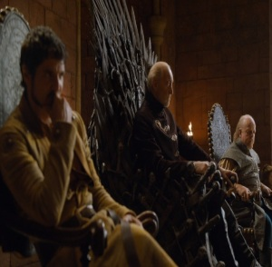 Tywin Lannister hand of the king game of Thrones HBO
