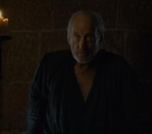 Tywin Lannister dies game of Thrones HBO