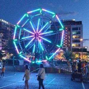 Fall for Greenville festival ferris wheel