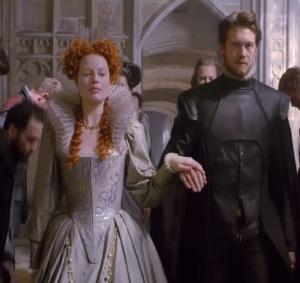 Queen Elizabeth I Mary Queen of Scots 2018 movie