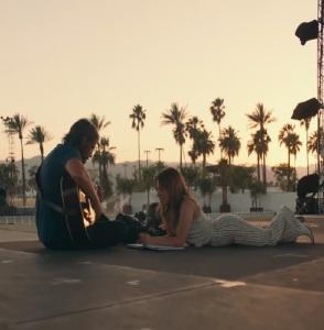 Bradley Cooper and lady gaga A Star Is Born