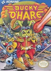 Bucky O'Hare NES Boxart Konami