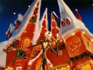 Christmas town The Nightmare Before Christmas
