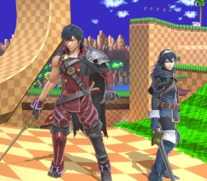 Chrom and his daughter Lucina super Smash Bros ultimate Nintendo Switch fire Emblem