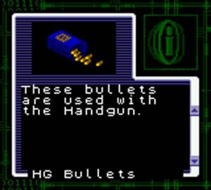 Ammo Resident Evil Gaiden