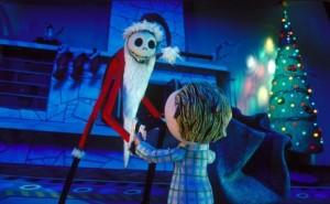 Jack Skellington santa claus The Nightmare Before Christmas