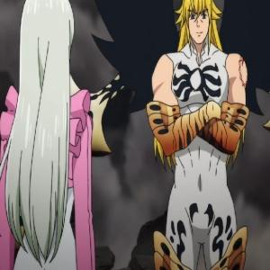 Elizabeth vs demon king meliodas the Seven Deadly Sins anime
