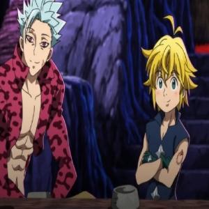 Ban and meliodas meet Wild the Seven Deadly Sins anime