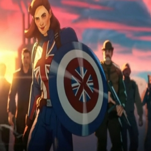 Peggy Carter becomes captain carter What If...? Marvel studios
