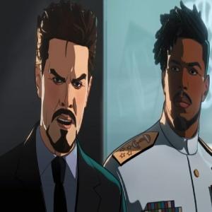 Killmonger saves Tony Stark What If...? Marvel studios