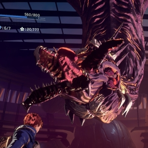 Homunculus α defeated Astral Chain Nintendo Switch