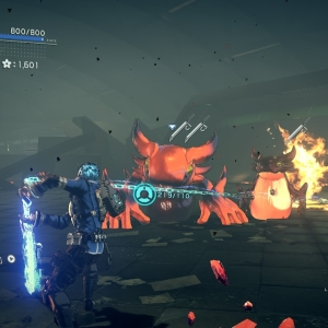 Boss battle Zeus Astral Chain Nintendo Switch