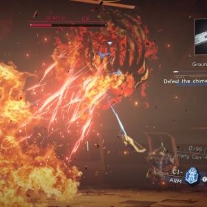 Boss battle Deimos astral chain Nintendo Switch