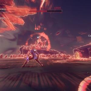 Boss fight Beast Nemesis Astral Chain Nintendo Switch