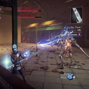 Boss battle ProtoLegion Astral Chain Nintendo Switch